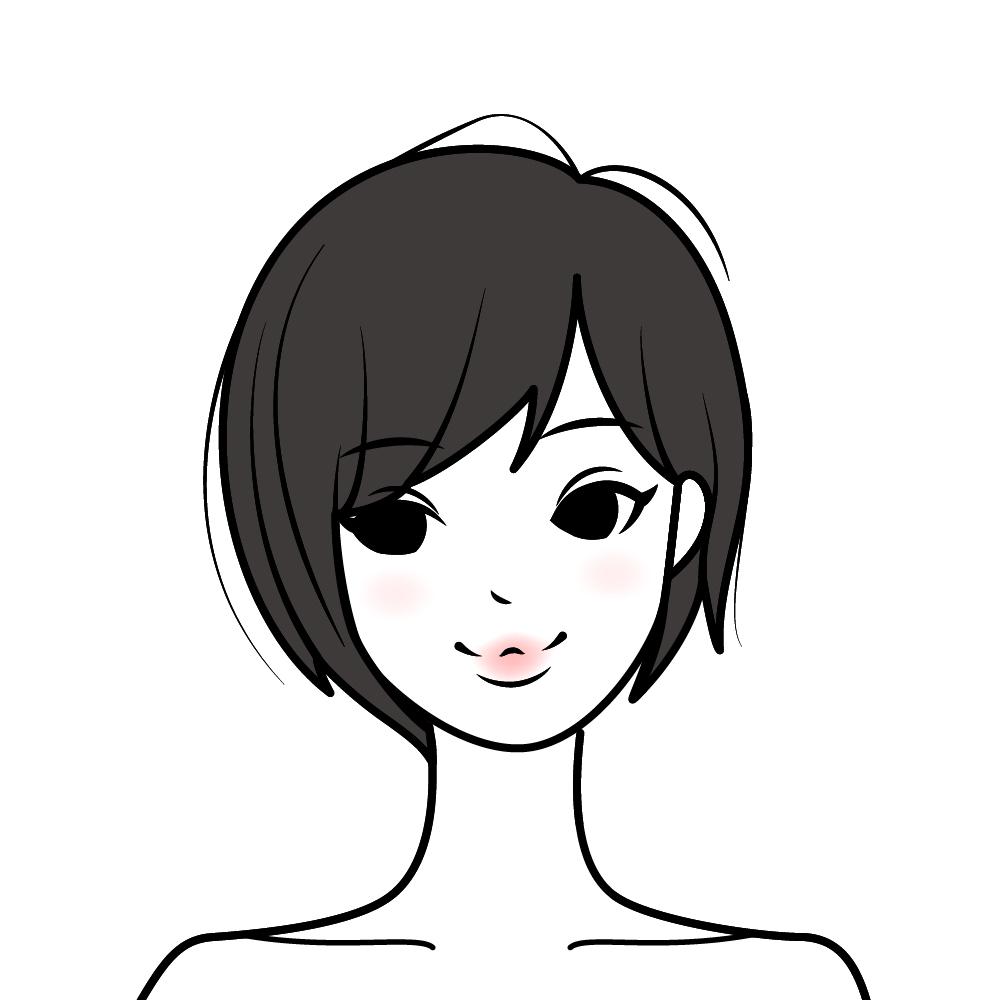 アクティブ 顔 キュート タイプ 顔タイプ「アクティブキュートタイプ」の髪型で一番似合うものは?